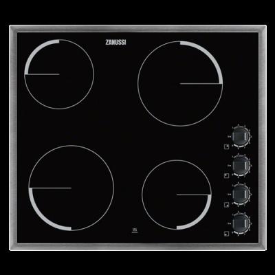 ZANUSSI  ZEV6140XBV ugradna ploča inox  crna