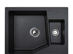 Metalac xLinea M 1.5D crna 620×500 Ø90