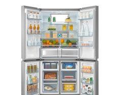 Tesla  RM6400FMX Side by side frižider Total No Frost