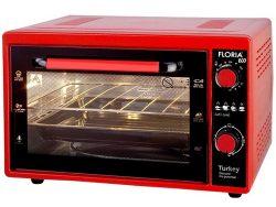 FLORIA ZLN2898RD Električna mini pećnica  rerna crvena