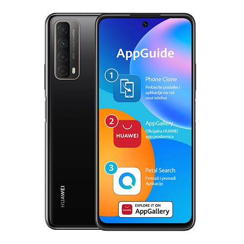 Huawei P Smart 2021 4/128 Crna DS