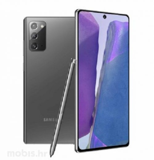 Samsung Galaxy Note20 – Mistično sivi